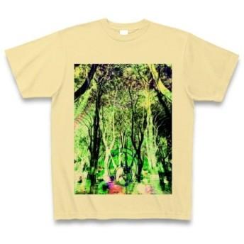 有効的異常症候群幻林◆アート◆文字◆ロゴ◆ヘビーウェイト◆半袖◆Tシャツ◆ナチュラル◆各サイズ選択可