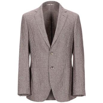 《セール開催中》BURBERRY メンズ テーラードジャケット ココア 54 ウール 55% / コットン 45%