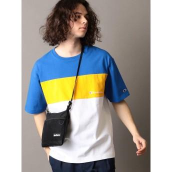 [シップスジェットブルー] Champion チャンピオン Tシャツ 半袖 メンズ 122170032 ブルー S