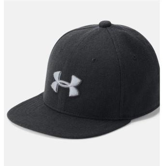 (セール)UNDER ARMOUR(アンダーアーマー)スポーツアクセサリー 帽子 19F UA BOYS HUDDLE SNAPBACK 2.0 1318599 001 ボーイズ ONESIZE 1