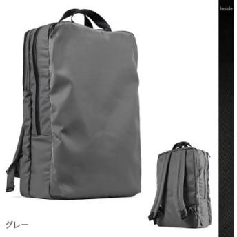 (Bag & Luggage SELECTION/カバンのセレクション)アンクール リュック ビジネスリュック メンズ スクエア ブランド 撥水 防水 大容量 Un coeur NTR K907224/ユニセックス グレー 送料無料