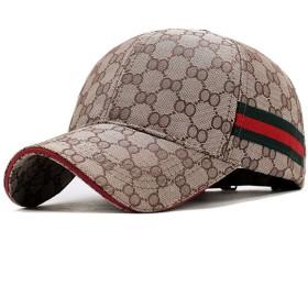 JOMISS 帽子 メンズ キャップ レディース 男女兼用 キャンバス野球用 帽子 練習用キャップ (ブラウン)