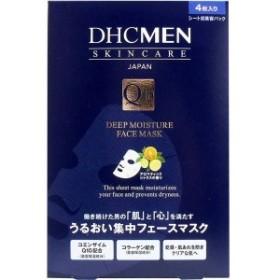 【メール便対応可】 DHCMEN ディープモイスチュア フェースマスク 4枚入