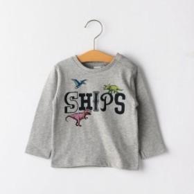 シップス キッズ(SHIPS KIDS)/SHIPS KIDS:恐竜 ロゴ プリント TEE(80~90cm)