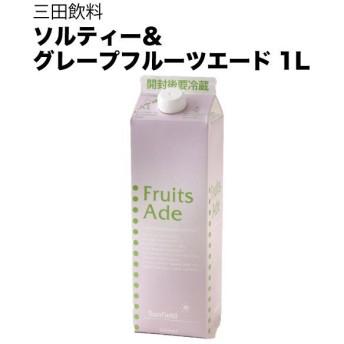 三田飲料 ソルティー&グレープフルーツエード 1L 1000ml [三田飲料]