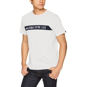[アルファ インダストリーズ] 半袖 プリントTシャツ REMOVE TC1255-09 メンズ WHITE 日本 L (日本サイズL相当)