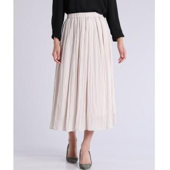 CLEAR IMPRESSION / ロングプリーツスカート
