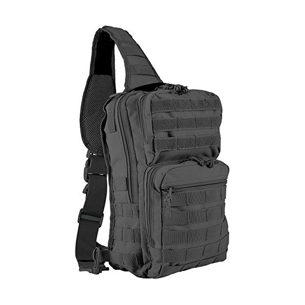 New Red Rock Outdoor Gear Rover Sling Pack Black RED80129BLK