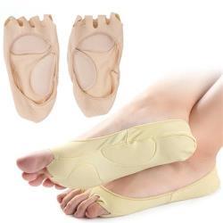 JHS杰恆社新款春季五指船襪日本魚嘴防磨腳露趾船襪防滑吸汗隱形女薄襪abe53 預購