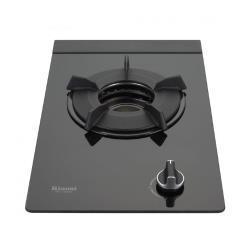 (全省安裝)林內單口內焰玻璃檯面爐鑄鐵爐架黑色瓦斯爐RB-N100G-B