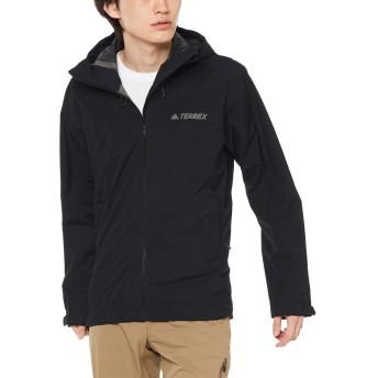 [アディダス] ジャケット アウトドアウェア Swift Climaproof 2.5L FSC80 [メンズ] ブラック (DT4111) 日本 J/O (日本サイズ2L相当)