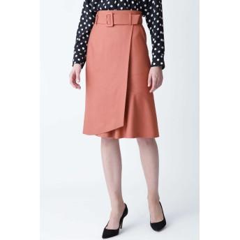 PINKY & DIANNE アシンメトリーマーメイドスカート ひざ丈スカート,ピンクアーモンド3