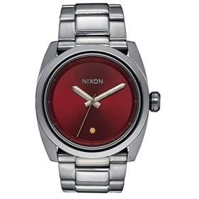 当店1年保証 ニクソンNixon Kingpin Burgundy Dial Stainless Steel Men's Watch A507207300
