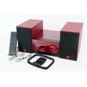 【中古】パイオニアPioneer  iPod/iPhone/iPad対応 Bluetooth機能搭載 CDミニコンポーネントシステム X-CM35-R レッド
