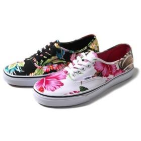 バンズ オーセンティック ハワイアン VANS Authentic 花柄 ハイビスカス ハワイアン フローラルプリント スニーカー シューズ 靴  メンズ レディース