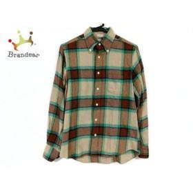 インディビジュアライズドシャツ 長袖シャツ サイズ14 1/232 メンズ チェック柄 新着 20190810