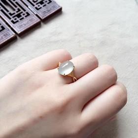 450 特売 k18金リング ゴールド 翡翠リング ダイヤモンドリング 指輪 ピンクゴールドリング 母の日 プレゼント 誕生日 結婚記念日
