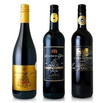 連続金賞受賞ワイン3本セット 飲料・お酒 ビール・ワイン・お酒 ワイン(アソートセット) au WALLET Market