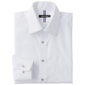 25%OFF【メンズ】 形態安定デザインYシャツ(ベーシックシルエット)(長袖) - セシール ■カラー:ホワイト・ドビー ■サイズ:41(裄丈80),41(裄丈82),41(裄丈84),47(裄丈86)
