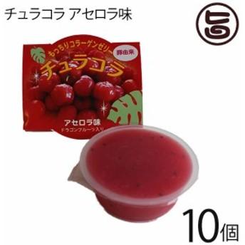 リリーフーズ チュラコラ (コラーゲンゼリー) アセロラ味 10個セット (2個入り×5袋) 沖縄 土産 無着色 無香料 条件付き送料無料