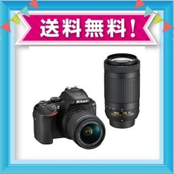 Nikon デジタル一眼レフカメラ D5600 ダブルズームキット ブラック D5600WZBK