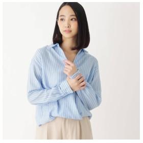 【イッツデモ/ITS'DEMO】 ストライプスキッパーシャツ