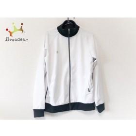 アンブロ UMBRO ブルゾン サイズO メンズ 美品 白×黒 春・秋物/ジップアップ 新着 20190810