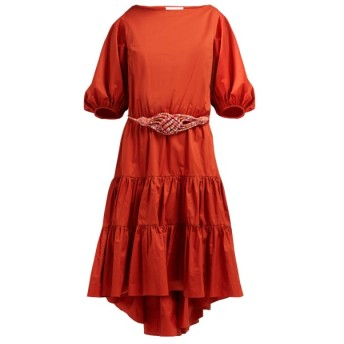 Simple Minds コットンベルテッドドレス