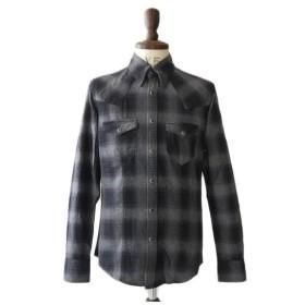 Battalion バタリオン ウエスタンチェックシャツ G01-SH001 メンズ