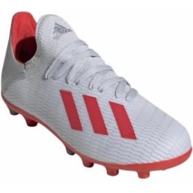 アディダス(adidas) キッズ サッカースパイク エックス 19.3-ジャパン HG/AG J シルバーメット/ハイレゾレッド/ホワイト 189 GNH24 EF9