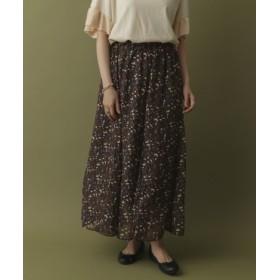 ITEMS(アイテムズ) スカート スカート ガラフレアスカート