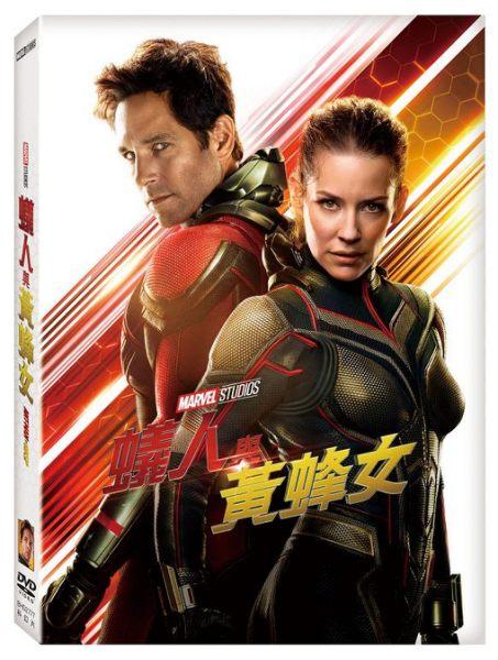 【停看聽音響唱片】【DVD】蟻人與黃蜂女