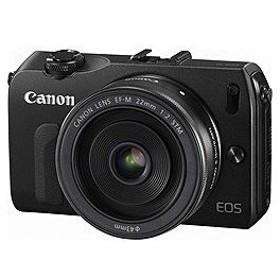 Canon キャノン EOS M EF-M22 STM レンズキット ブラック 銀行振込値引きキャンペン中
