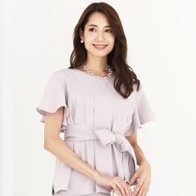 [マルイ]【セール】セットアップ スカート ドレス [パーティードレス 結婚式 お呼ばれ フォーマル ベルト] /クリーム(C.R.E.A.M)