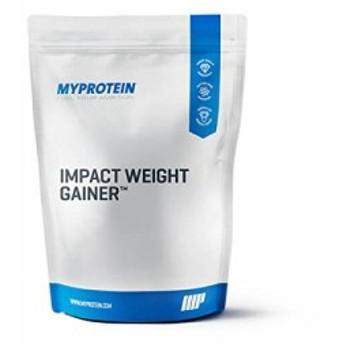 マイプロテイン・Impact ウェイトゲイナー (バニラ 5kg)