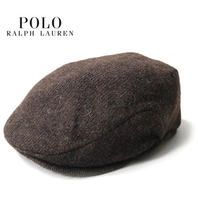 ラルフローレン ウール ハンチング POLO Ralph Lauren 6F0113 キャスケット 帽子 無地 メンズ レディース