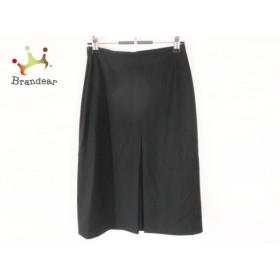 サルバトーレフェラガモ SalvatoreFerragamo スカート レディース 美品 黒   スペシャル特価 20191116