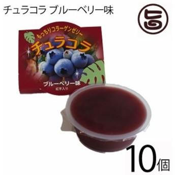 リリーフーズ チュラコラ (コラーゲンゼリー) ブルーベリー味 10個セット (2個入り×5袋) 沖縄 土産 無着色 無香料 条件付き送料無料