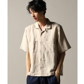【ジャーナルスタンダード/JOURNAL STANDARD】 R/L OPEN COLLAR ショートスリーブシャツ