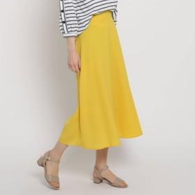 THE SHOP TK ザ ショップ ティーケー UVカット 麻調カラースカート
