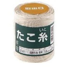 たこ糸 綿撚り糸 #6 22-8111 高木綱業