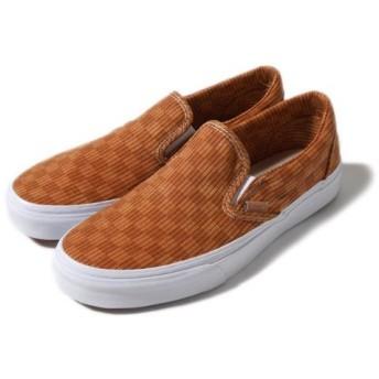 バンズ カリフォルニア スリッポン VANS Classic Slip-On CA FQU FQW FQX ヘリンボーン チェッカーフラッグ柄 チェック スニーカー シューズ 靴 メン