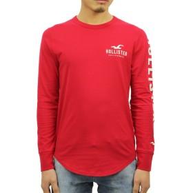 [ホリスター] HOLLISTER 正規品 メンズ 長袖Tシャツ Long-Sleeve Logo Graphic Tee 323-248-0111-500 M 並行輸入品 (コード:4121730311-3)
