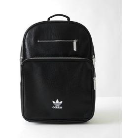 adidas originals アディダス フェイクレザー バックパック BK6946 リュックサック 黒 オリジナルス アディカラー メンズ レディース