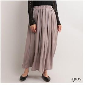 [マルイ]【セール】マットカラーギャザースカート/フィリル(fillil)