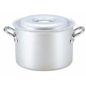 HOKUA ホクア マイスター アルミ 半寸胴鍋 AHV5724(シルバー, 24cm)