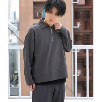 ITEMS(アイテムズ) トップス シャツ・ブラウス TRPUハーフジップシャツ【送料無料】