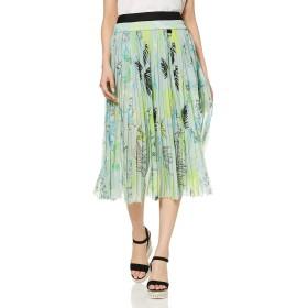 (ディーゼル) DIESEL レディース スカート 花柄ジョーゼットフェミニンスカート 00SR6Y0WATZ XS ホワイト×ブラウン 170A