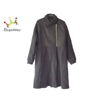 アンテプリマ ANTEPRIMA コート サイズ44 L レディース 黒 冬物 新着 20190810