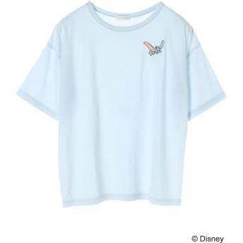 【5,000円以上お買物で送料無料】ダンボ/刺繍Tシャツ